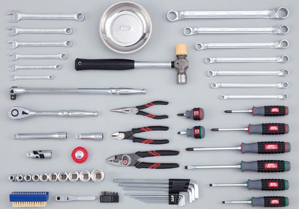 Bộ dụng cụ SK4580ET, bộ dụng cụ 59 chi tiết với các dụng cụ cầm tay cơ bản,