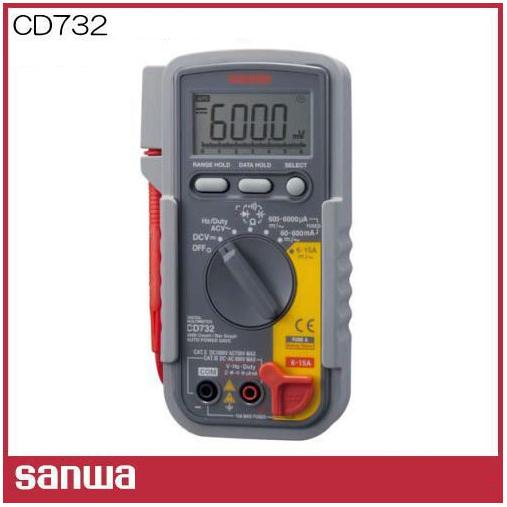 Đồng hồ đo điện Sanwa, Sanwa CD732, đồng hồ đo điện nhập khẩu