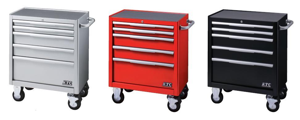 Xe dụng cụ 5 ngăn kéo, EKW-1005, xe đựng dụng cụ 5 ngăn kéo