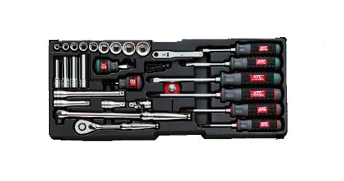 Bộ dụng cụ Yamaha, bộ dụng cụ KTC SK3686X, bộ đồ nghề KTC, bộ đầu khẩu KTC