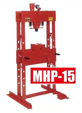 Máy ép thủy lực, MHP-15 Masada, máy ép vòng bi, máy ép biên