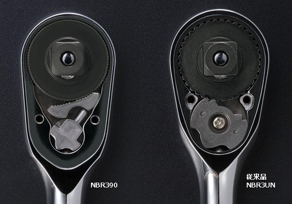 Tay lắc vặn Nepros, Nepros NBR390, KTC Nepros NBR390, tay xiết ốc tự động