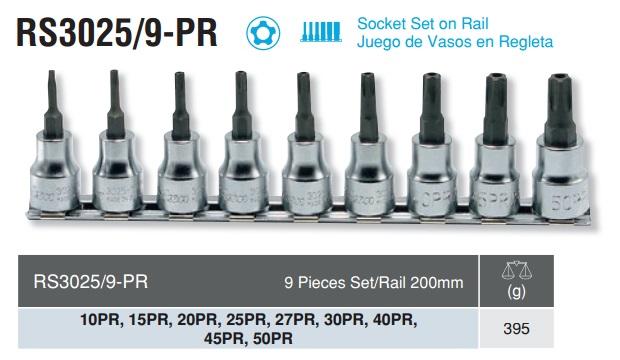 Bộ đầu sao 5 cạnh Koken, Koken RS3025/9-PR