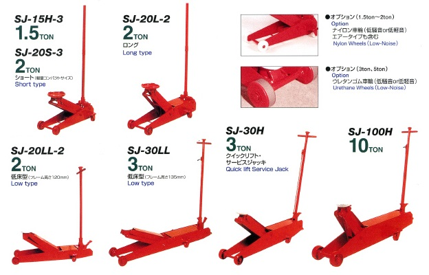 Kích cá sấu Masada Nhật, kích nâng xe ô tô, kích thay lốp xe, Masada SJ-20L-2