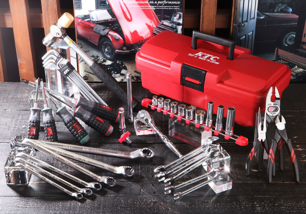 Bộ dụng cụ sửa chữa di động KTC, bộ dụng cụ dùng cho sửa chữa xe máy Yamaha, dụng cụ Yamaha