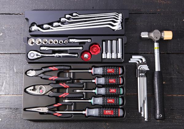 Bộ dụng cụ sửa chữa 43 chi tiết, KTC SK3434S, bộ dụng cụ gia đình
