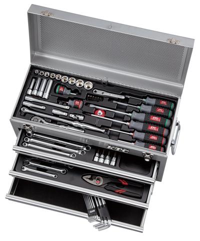 Bộ dụng cụ KTC SK3650XS, bộ dụng cụ với hộp đựng dụng cụ SKX0213