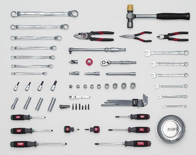 KTC SK3650ET, bộ dụng cụ KTC SK3650EZ, bộ dụng cụ 66 chi tiết,