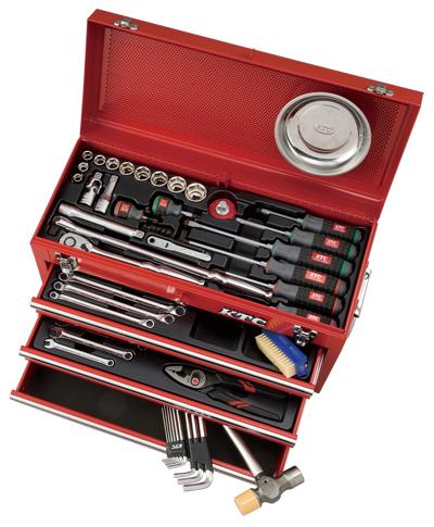 Bộ dụng cụ KTC SK4586X, bộ dụng cụ sửa chữa đa năng