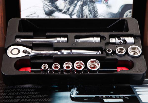 Bộ tuýp 12 chi tiết, bộ tuýp cỡ 7 đến 19mm, TB308