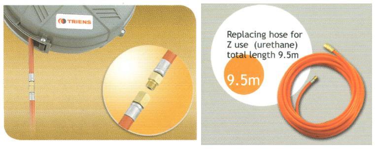 Thay lõi dây khí, thay dây khí, SHR-31Z, dây khí M-HA-2-1, dây khí 8mmx10m