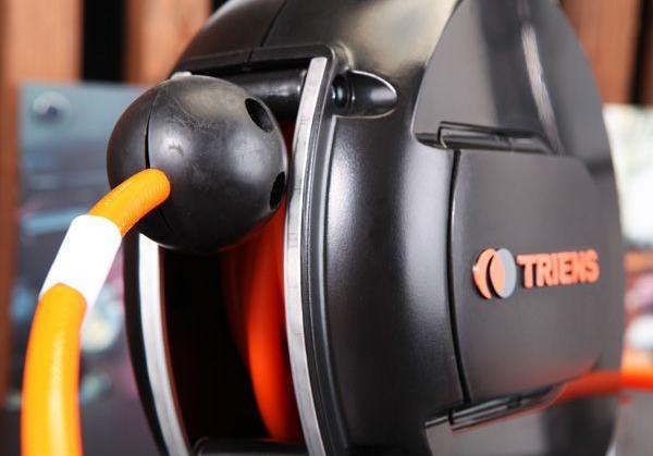 Cuộn dây khí tự rút dùng cho nhà máy, cuộn ống hơi tự rút Triens, Triens WHC-303A