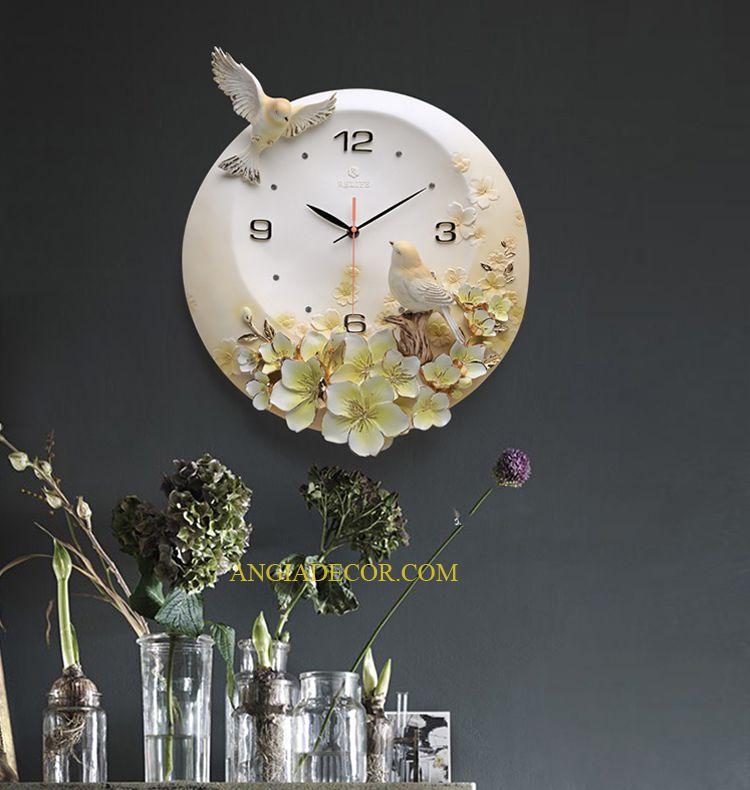 đồng hồ treo tường giá rẽ hà nội