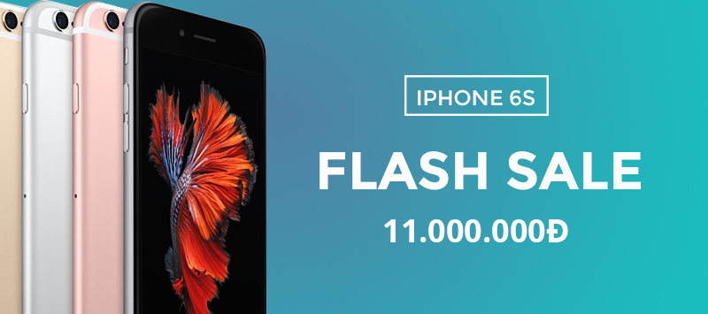 Flash Sale Iphone 6S