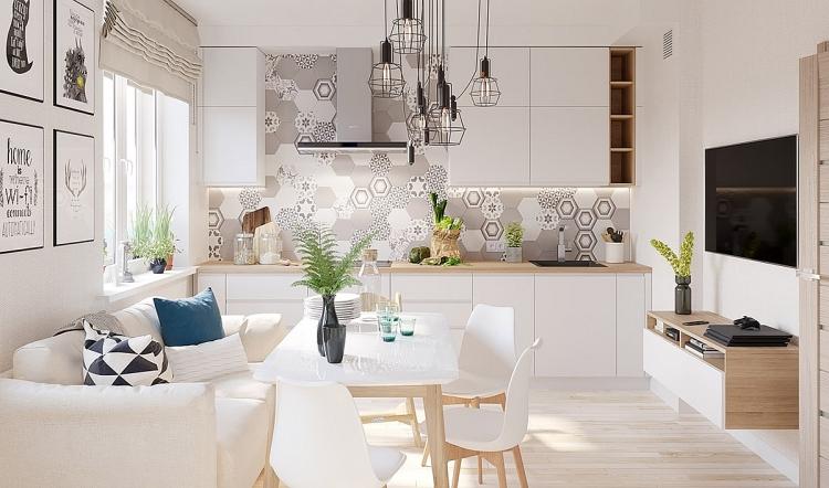 Kết quả hình ảnh cho những mẫu phòng khách bé nhung bố trí nội thất đẹp