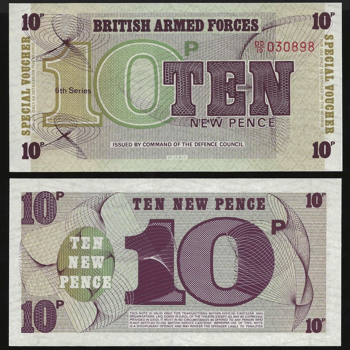 Great Britain (Anh) 10 new pence 1972