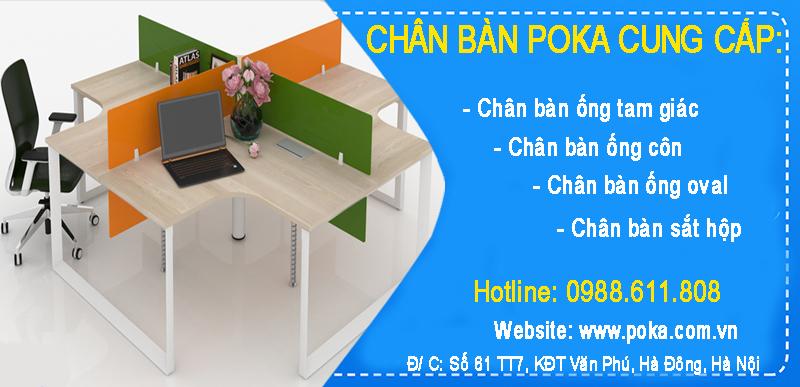 Địa chỉ mua chân bàn văn phòng tam giác Hà Nội