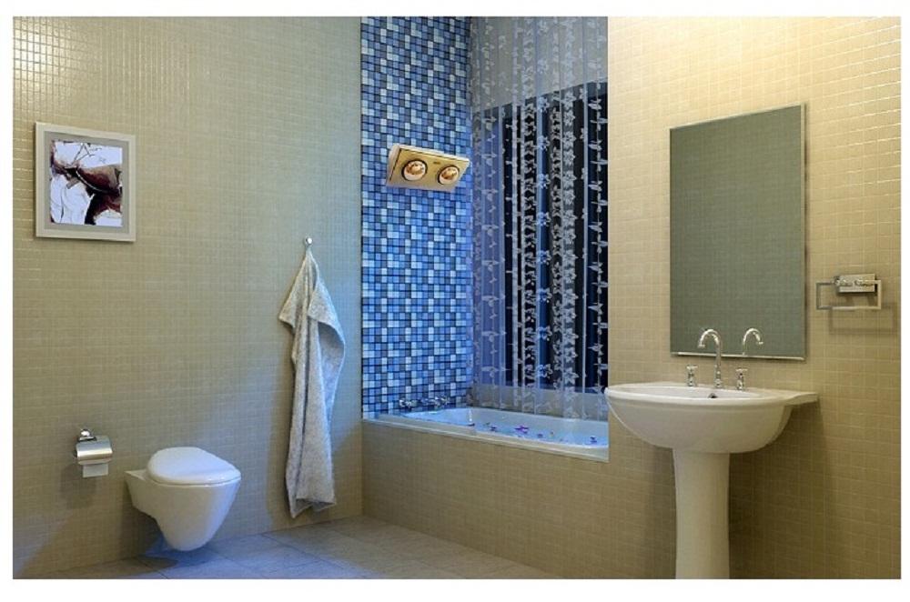 Trải qua mùa đông ấm áp với đèn sưởi hồng ngoại phòng tắm
