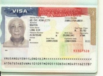 Thủ tục làm visa đi Mỹ 2019