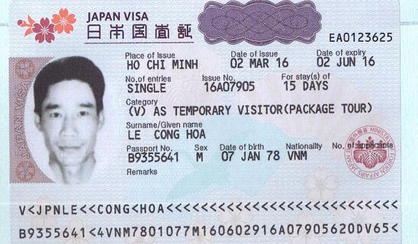 làm visa đi Nhật Bản 2019