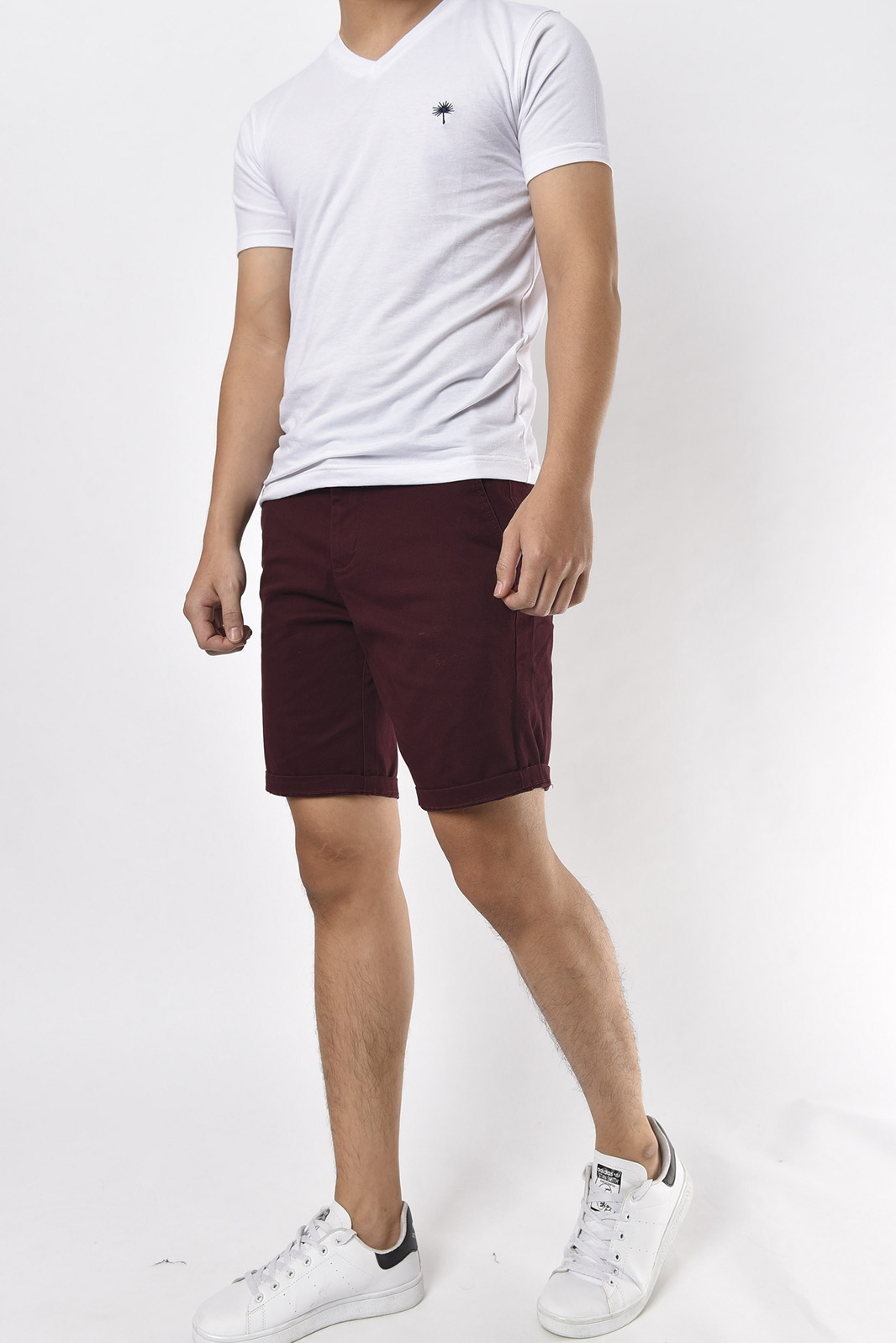 QUẦN SHORT KAKI WASHED PAZZINI