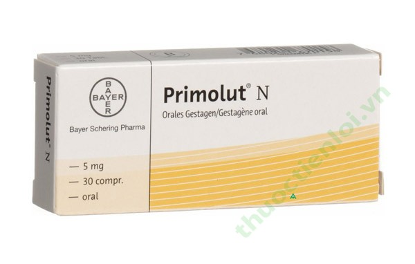Primolut n menstrual timing