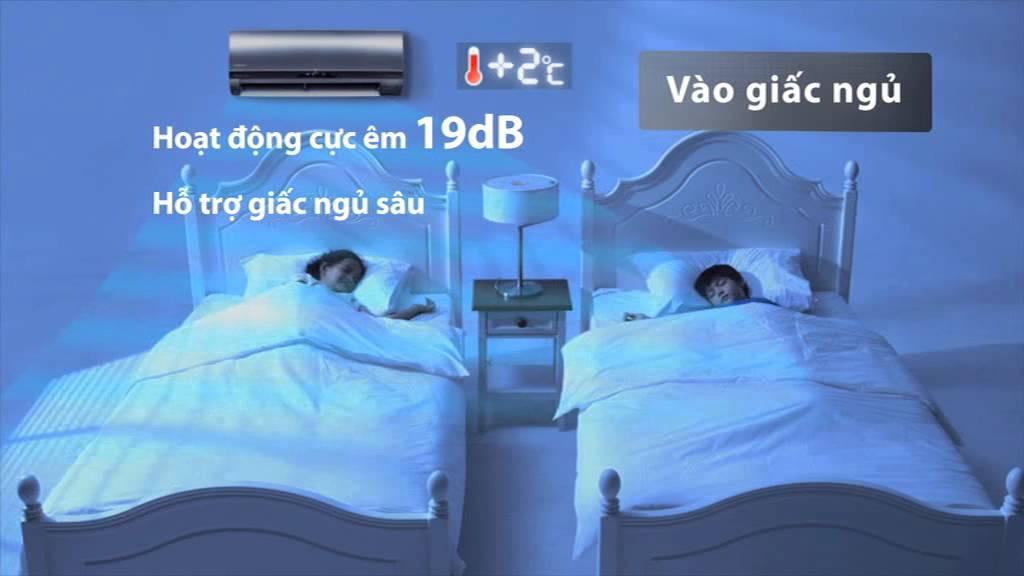 Điều hòa Hitachi với công nghệ Eco thông minh cho giấc ngủ hoàn hảo