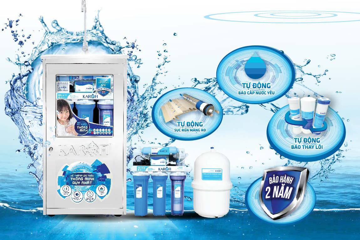 Máy lọc nước - Lý do nên mua máy lọc nước