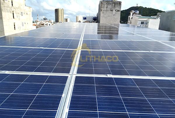 Hệ thống điện mặt trời hòa lưới 10 kWp cho Khách sạn RUBY tại TP Vũng Tàu