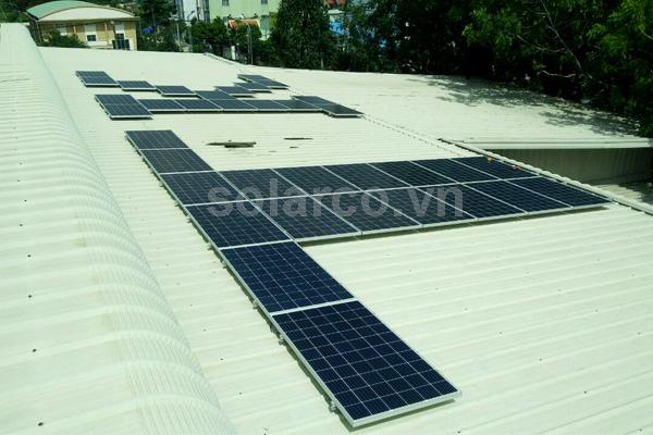 Hệ thống điện mặt trời hòa lưới 10.40kWp cho doanh nghiệp tại Q12 TPHCM