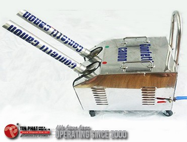 Máy bắn Pháo hoahạng mục cơ bản báo giá tổ chức sự kiện khởi công/động thổ