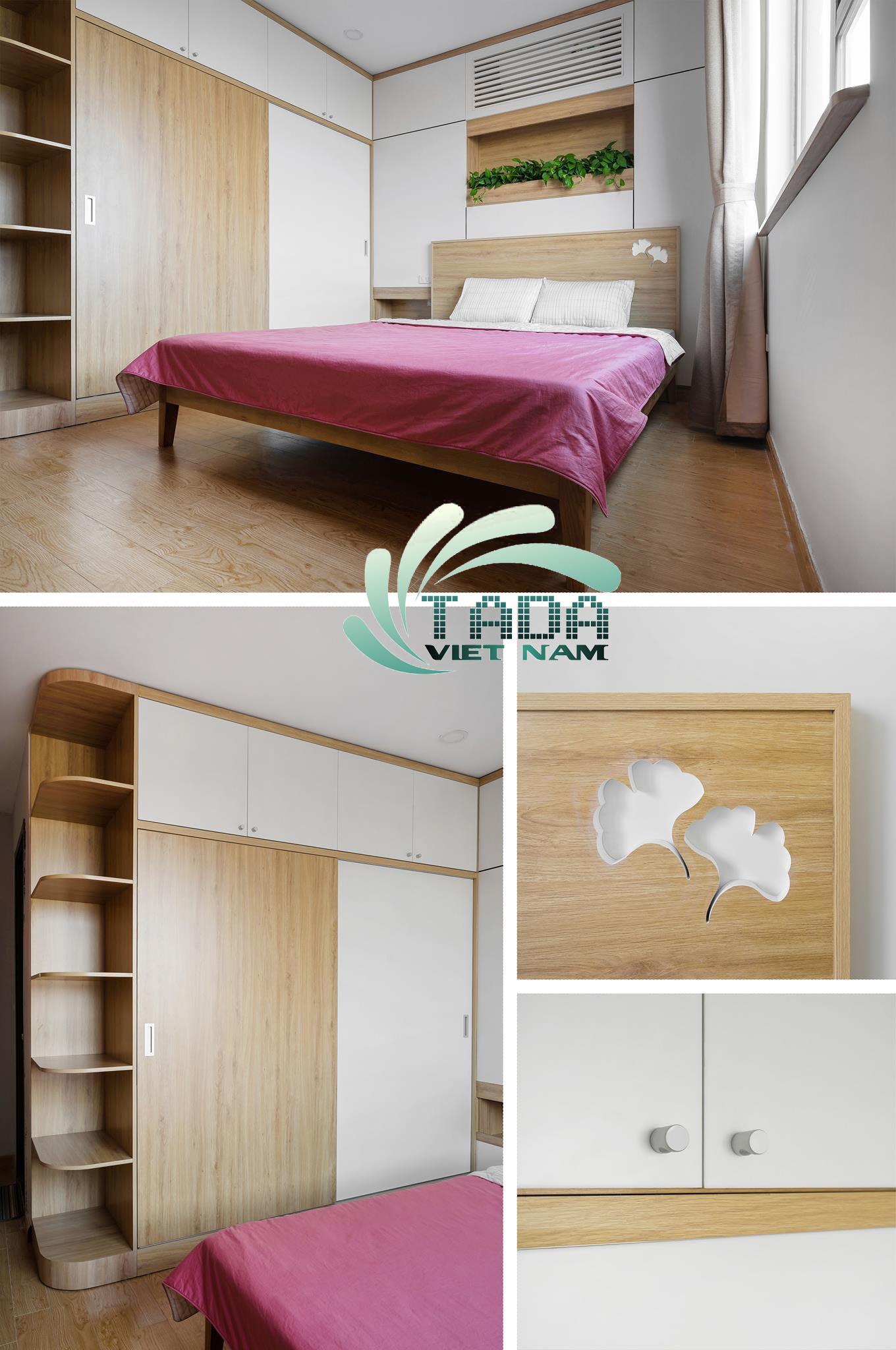 Trang trí phòng ngủ 18m2 tại Hà Nội