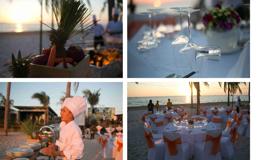 Kết quả hình ảnh cho tổ chức sự kiện gala dinner trên biển 2017