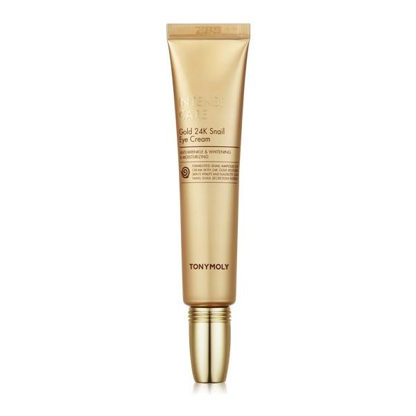 KEM MẮT TONYMOLY INTENSE CARE GOLD 24K SNAIL EYE CREAM 30ML
