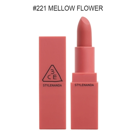 SON 3CE MOOD ON AND ON #221 Mellow Flower - Hồng đất