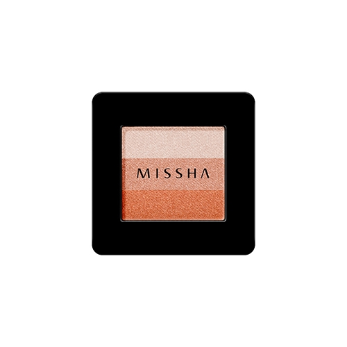 Phấn mắt 3 màu MISSHA TRIPLE SHADOW (NO.8/ORANGE PARADE)