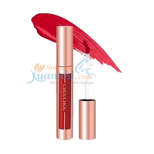 Son Kem Lì ChouChou Matt Lip Color #305 Autumn Rose (Đỏ Hồng)