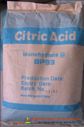 Acid Citric Monohydrate ( Axit xitric )