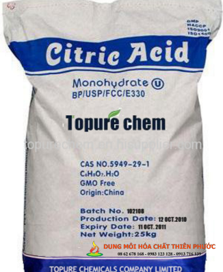 Acid Citric ( Axit citric hay axit xitric )