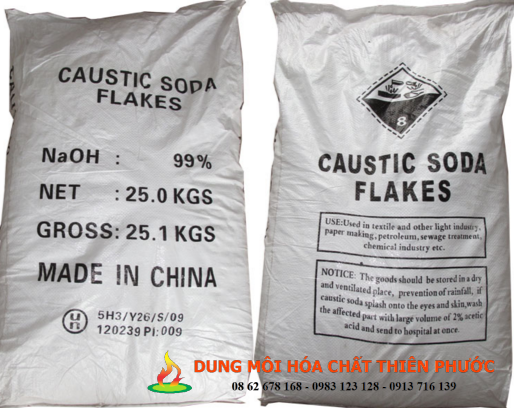 NaOH VẢY (ĐÀI LOAN) – CAUSTIC SODA FLAKES