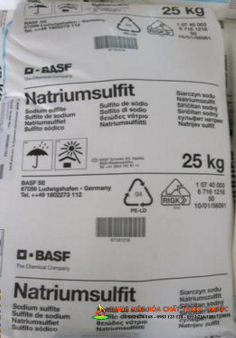 Sodium Sulphite - Na2SO3 - Natri sunfite