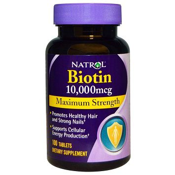 Natrol Biotin 10000mg maximum strength