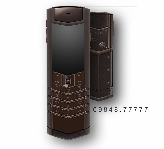Vertu Signature S PURE CHOCOLATE STAINLESS