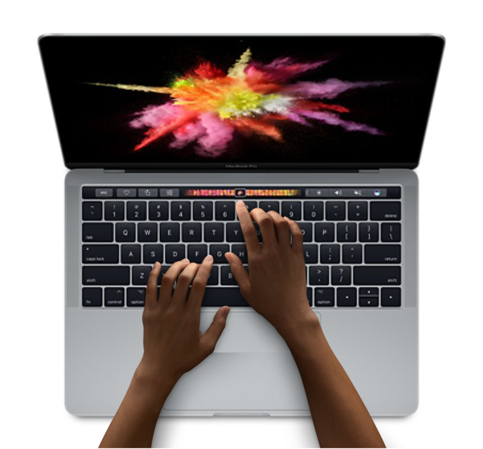 Macbook Pro 13.3 256GB Touch Bar - MPXV2 (Space Gray) 2017