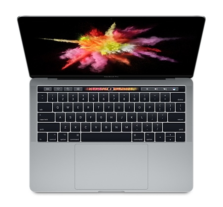 Macbook Pro 13.3 256GB Touch Bar - MLH12 (Gray) 2016