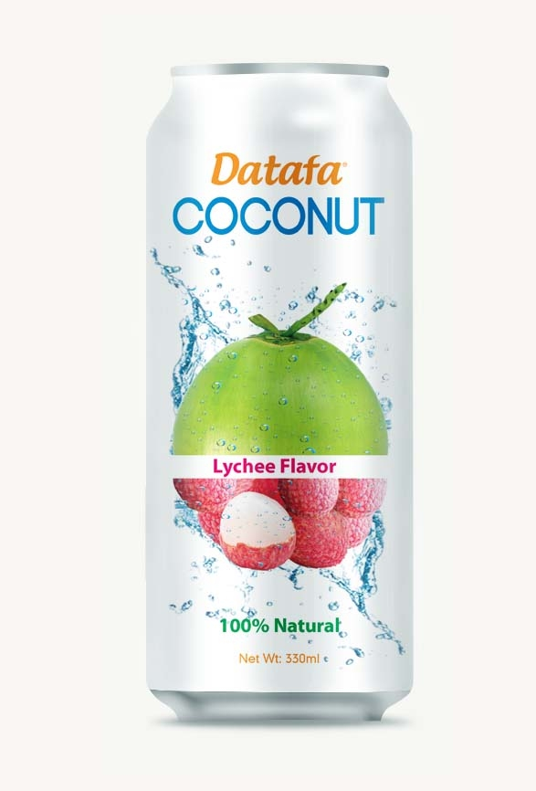 Young Coconut Water with Lychee Juice