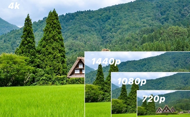 Camera quan sát 4k | Camera quan sát 1440p |  Camera quan sát 1080p | Camera quan sát 720p
