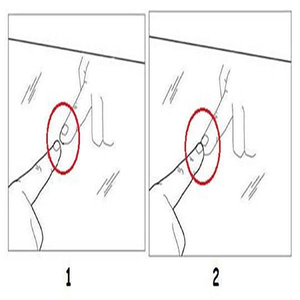 Cách để nhận biết gương hai chiều