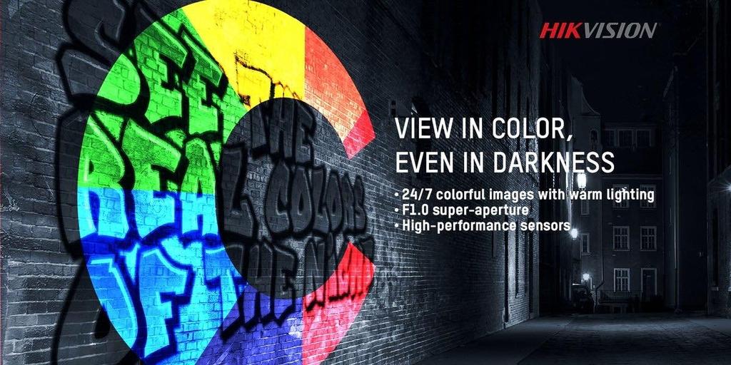 Camera quan sát có màu ban đem ColorVu