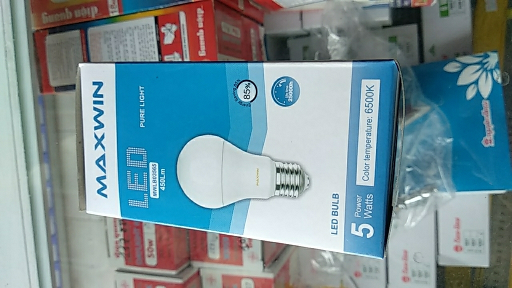 Led Buld 5W ( Trắng ) - MaxQin